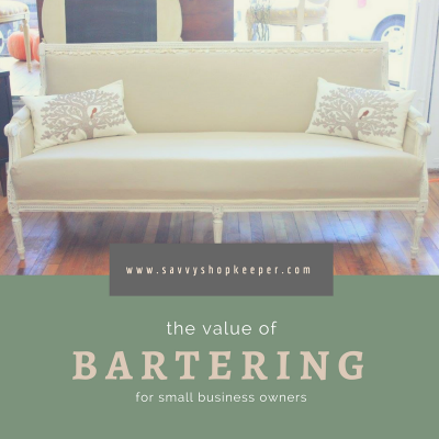 the value of bartering