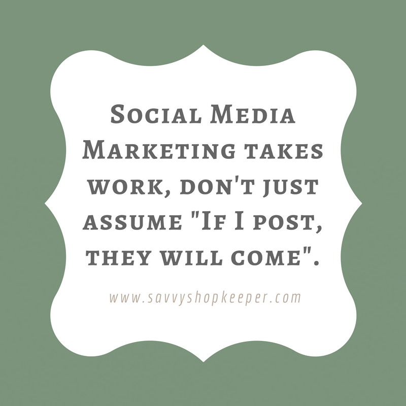 Social Media Marketing isn't just about posting.