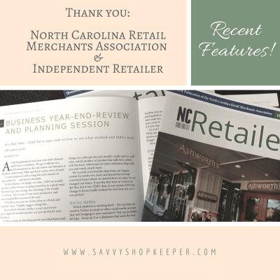 North Carolina Merchants Association and Independent Retailer