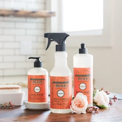 Grove Collaborative Free 5 piece Mrs. Meyer's Cleaning Set