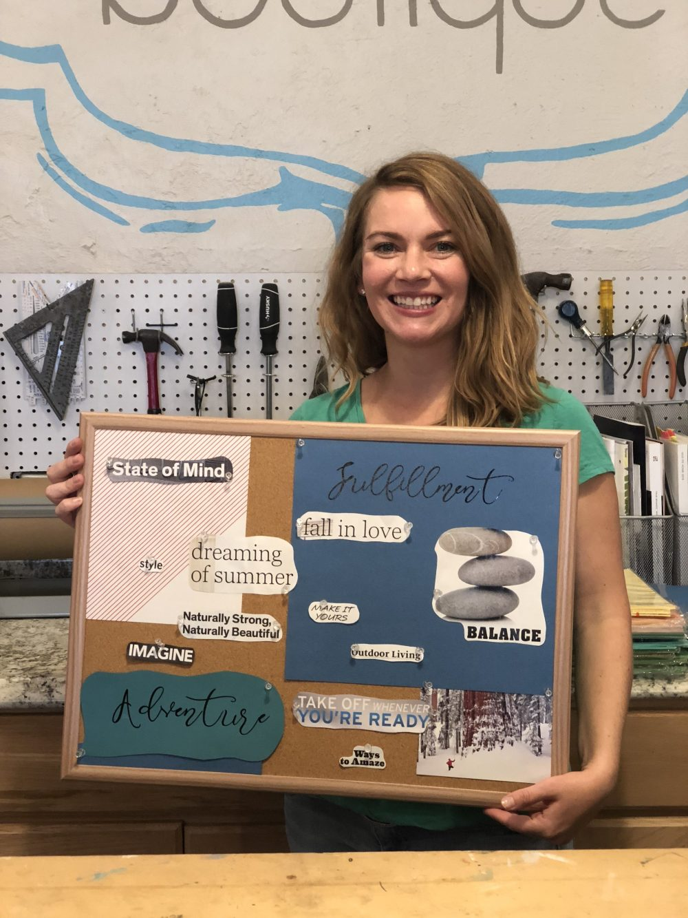 October 2018 Vision Board Workshop Recap