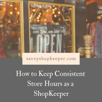 Store Hours Shopkeepers