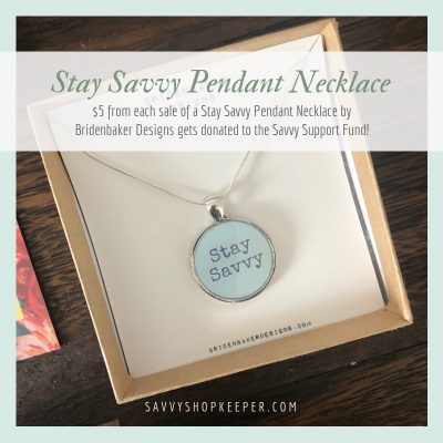 Stay Savvy Pendant Necklaces