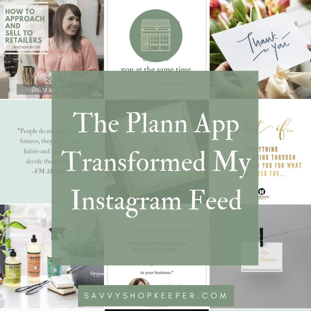 The Plann App Transformed My Instagram Feed