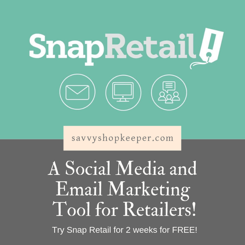 A Social Media and Email Marketing Tool for Retailers {Snap Retail}